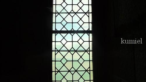 モンサンミッシェル窓