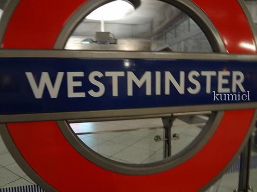 ロンドンウェストミンスター寺院地下鉄