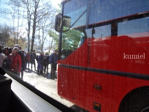 フッセン駅からバスで