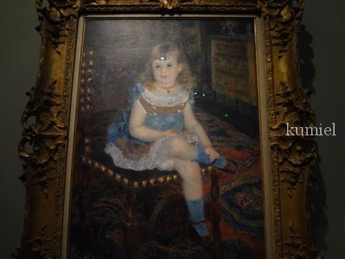 オランジュリー美術館 石橋財団コレクション すわるジョルジェット・シャルパンティエ嬢