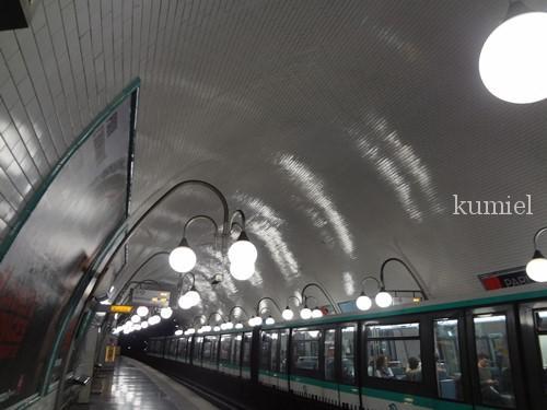 パリ 地下鉄シテ