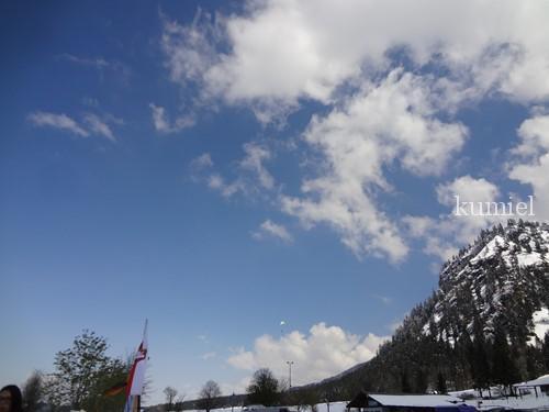 テーゲルベルク山パラグライダー