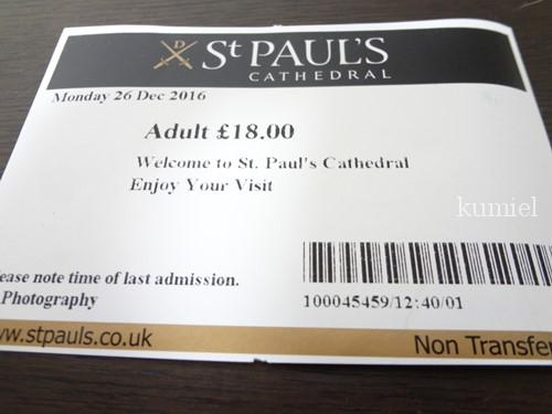 セント・ポール大聖堂チケット