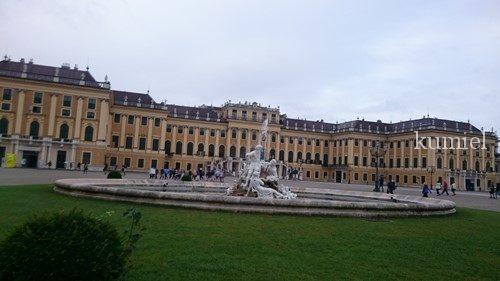 オーストリアシェーンブルン宮殿