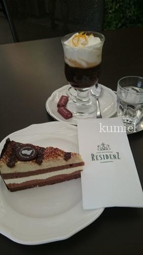 ウィーンシェーンブルン宮殿カフェ