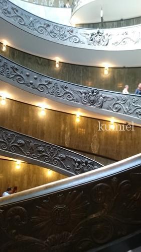 ヴァチカン美術館 螺旋階段