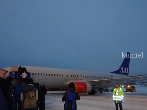 ノルウェートロムソスカンジナビア航空