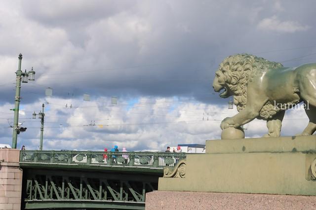 サンクトペテルブルグ ドヴォルツォヴィ橋