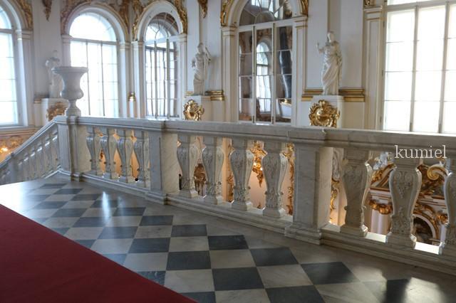 サンクトペテルブルグ エルミタージュ美術館 大使の階段