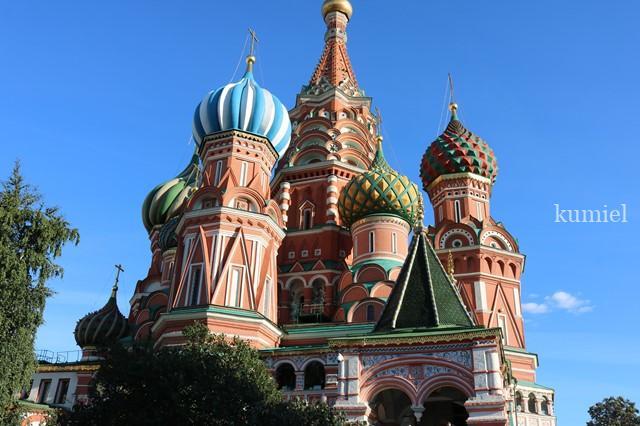 モスクワ 聖ワリシイ大聖堂