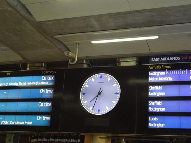 ロンドンパンクラス駅