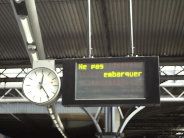 ベルギーブリュッセルMIDI駅