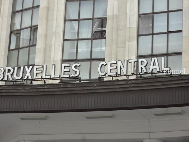 ベルギーブリュッセル中央駅