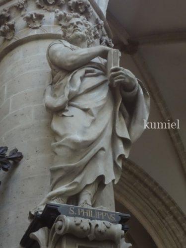 2018年秋ベルギー旅行 サンミッシェル大聖堂