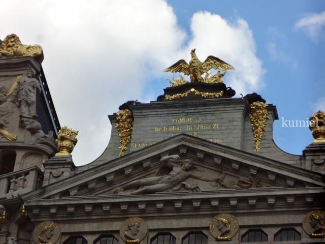 2018年秋ベルギー旅行 グランパレス広場